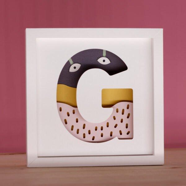 lettere decorative